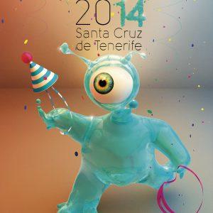 Постер карнавала Tenerife 2015