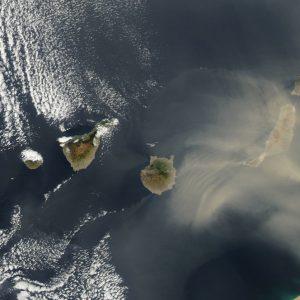 Острова со спутника