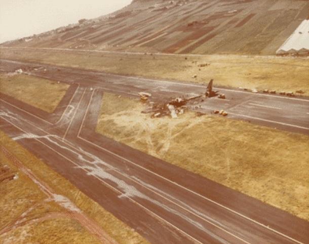Los Rodeos 1977 line