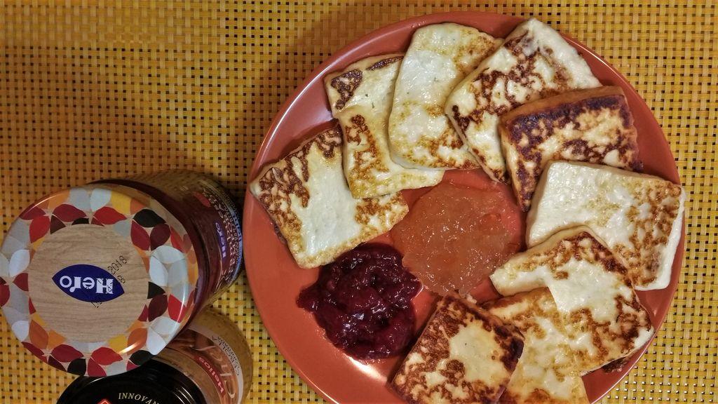 Жареный сыр Тенерифе