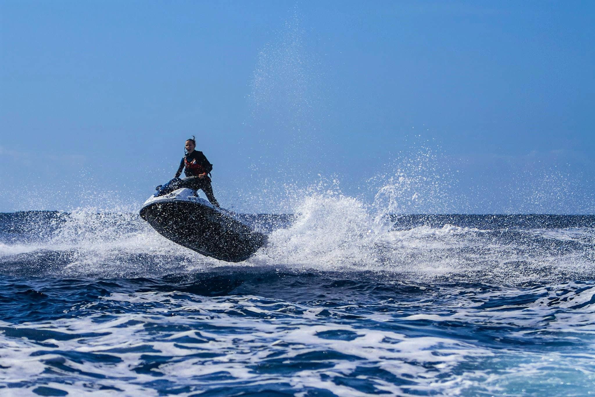 Водные мотоциклы на Тенерифе