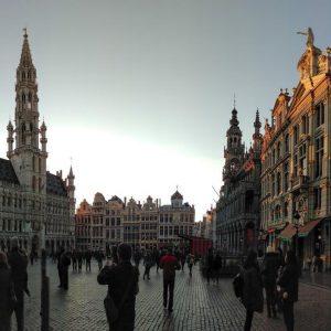 День в Брюсселе (апрель 2017)