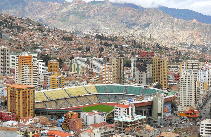 Сборная Боливии по футболу и высота Тейде